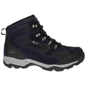 Hi-Tec Mens Storm Waterproof Walking Boots Outdoor Shoes Hiking Trekking Trail