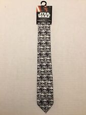 STAR WARS STORMTROOPERS NECK TIE DISNEY LICENSED BRAND NEW WITH TAGS USA SELLER