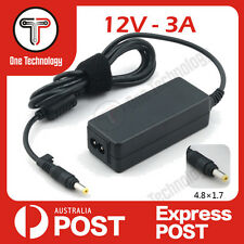 12V 3A Laptop AC Adaptor Charger 4.8x1.7 mm ASUS Eee PC 900 900A 900HD 900HA