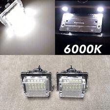 W212 C207 NO ERROR 6000K LED LICENSE PLATE LIGHT LAMP FOR 10-11 E350 E550 E63