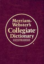 Merriam-Webster's Collegiate Dictionary, 11th Edition (Book with Online