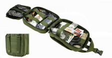 VISM Tactical  EMT OD Green First Aid Pouch