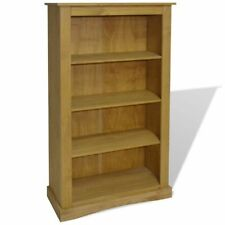 vidaXL 4-tier Bookcase Mexican Pine CORONA Range 81x29x150 Cm