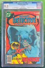 Detective Comics #474 (DC, Dec 1977) CGC 9.2 1st Modern Deadshot Appearance