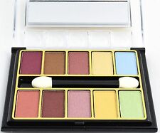 EYESHADOW 10 COLOURS MAKE UP URBAN  PALETTE NUDE EYE SHADOW KATE OF LONDON