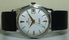 Vintage Fortis AUTOMATIC DATE SWISS MADE MENS WRIST WATCH r648 OLD used ANTIQUE