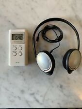 Sangean DT180 AM/FM Pocket Radio - Includes Free Headphones