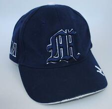 """M"" Blue Baseball Cap Hat One Size Strapback"