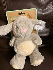 Kellypet 10'' Grey Bunny Dog Toy W/Squeaker