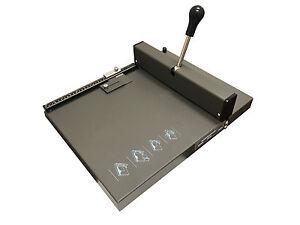 Creasing And Perforating Machine Manual 3 in 1 TABLE TOP Bindery Equipment