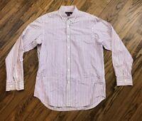Ralph Lauren Purple Label Mens Button Front Long Sleeve Shirt Size Large
