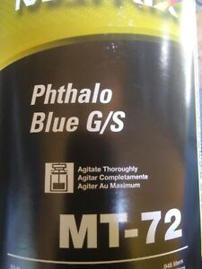 Matrix Toner MT-72 Phthalo Blue (1 QT)