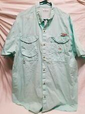 Columbia Pfg Vented Fishing Shirt Size Xxl