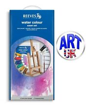 Reeves Artists Water Colour Easel Set paint tubes gift box