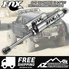 "Fox 2.0 Performance Series Front Reservoir Shock For 84-01 Jeep XJ MJ  4-6"" Lift"