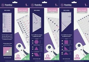 Threaders - Patchwork Multi Rulers by Crafter's Companion
