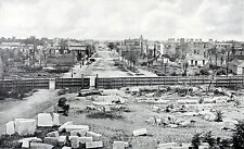 Columbia Captured- Columbia, SC in ruins taken from the destroyed capitol  1865