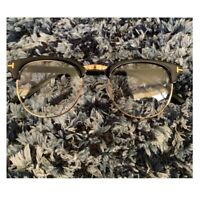 Half Metal Frame Glasses Men Women Vintage Square Clear Multicolor Accessories