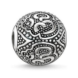 OM Karma Charm Silver Plated Luck Charm Bead for European Bracelets LIMITED SALE