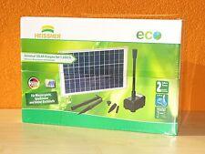 Heissner SP1000 Solar-Teichpumpen Set SP1000 mit 2 Wasserspielen