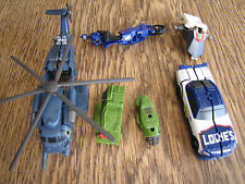 Transformers small loose incomplete blackout cyberverse topspin parts lot