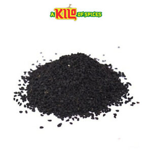 Pure Nigella Sativa Seeds, Black Cumin Seeds, Kalonji, Black Caraway 100g - 10kg