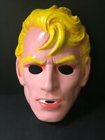 1960's Halloween Costume Mask Collegeville Flash Gordon