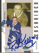 Red Kelly 2003 Parkhurst Original 6 Autograph #85 Maple Leafs