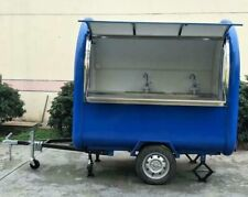CUSTOM Food Vending TRAILER, Any COLOR, Hitch, Stainless Steel Mobile Food Truck
