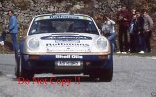 Henri Toivonen PORSCHE 911 SC RS Terre soleva RALLY 1984 Fotografia