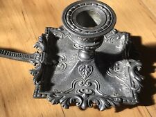 Vintage Metalars Peltro Pewter Candlestick Candle Holder Italy