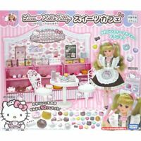 Sanrio x TAKARA TOMY LICCA Chan Hello Kitty Sweets Cafe JAPAN OFFICIAL IMPORT