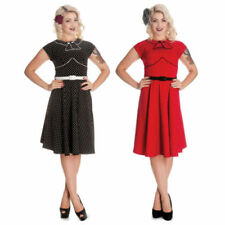 Hell Bunny for Women with Cap Sleeve Party Dresses