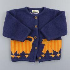 Pull gilet chaud fille 12 mois dpam 100% laine - vêtement bébé