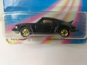 1986 Hot Wheels P-911 Turbo Porsche P-911 Vintage #M3968 Mattel NOC Rare