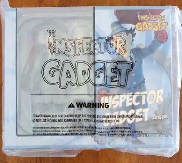 Inspector Gadget Blitzway 5Pro Studio  Megahero Figure  New