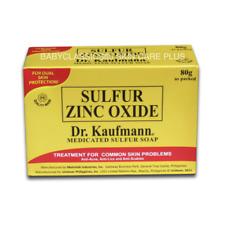 2bars Dr. Kaufmann SULFUR ZINC OXIDE Soap 80g@ FOR ANTI ACNE ECZEMA SCABIES