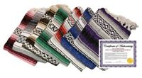 Authentic Hand Made Mexican Blankets