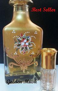 golden musk dust vanilla patchouli oriental spices attar perfume 6ml BEST SELLER