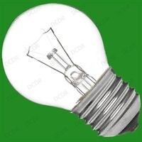 10x 60W CLEAR ROUND DIMMABLE GOLF LIGHT BULBS SCREW ES E27 EDISON SCREW LAMPS