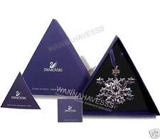 SWAROVSKI 2004 large annual snowflake ornament, brand new in box + COA !