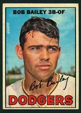 1967 TOPPS OPC O PEE CHEE BASEBALL #32 BOB BAILEY EX-NM L A DODGERS  CARD