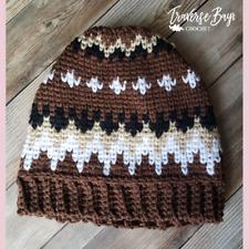 Crochet Bernie Beanie PATTERN ONLY