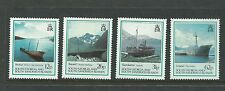 Sth Georgia & Sandwich Islands 1990 Ship Wrecks Set of 4 Complete MUH/MNH