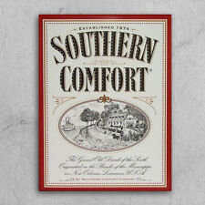 Metal Signs plaques retro style Southern Comfort home bar mancave drinks shed