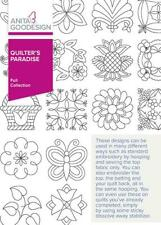 Quilter's Paradise Anita Goodesign Embroidery Machine Design Cd 54Aghd