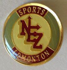 Edmonton Sports NEZ Vintage Pin Badge Sports Collectable (E5)