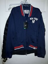 New York Yankees MLB baseball Nike Cooperstown Collection Jacket  -- Women's XL