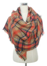 Oversized Blanket Tartan Plaid Scarf Wrap Shawl Long Big Checked Winter Pashmina