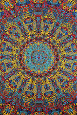 3D Psychedelic Sunburst Art Wall Tapestry Free Glasses 60x90 75191
